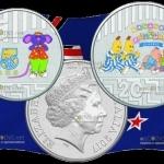 Австралия - монеты Бананы в пижамах