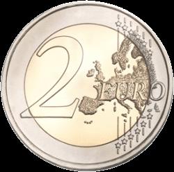 2 евро, аверс