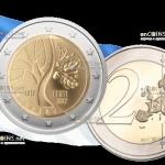 Эстония 2 евро Путь Независимости