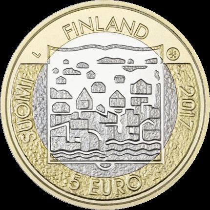 Финляндия 5 евро Карл Маннергейм, аверс