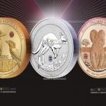 Австралия - коллекция монет Австралийская трилогия с бриллиантами