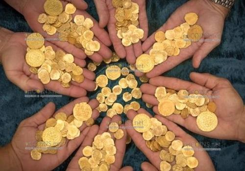 В Нидерландах найден клад золотых монет