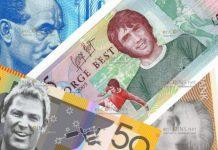 Спортсмены на банкнотах