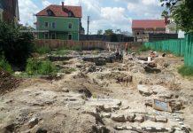 В центре Каменец-Подольского ведут археологические изыскания