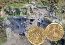 В крепости Русокастро в Болгарии найден золотой византийский солид