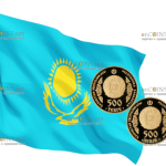В Казахстане выпускают монету 500 тенге Абылай хан, золото