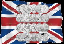На английский юбилейных монетах 50 пенсов можно неплохо заработать