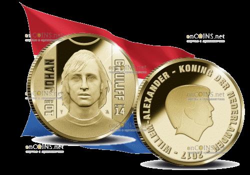 10 евро Йохан Кройфф, 2017