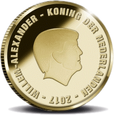 10 евро Йохан Кройфф, аверс, 2017