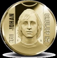 10 евро Йохан Кройфф, реверс, 2017