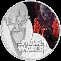 2 доллара серии Звездные войны - Последний джедай, Верховный лидер Сноук, реверс
