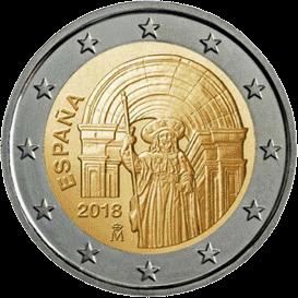 2 евро Сантьяго-де-Компостела (Старый город), реверс