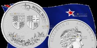 200 долларов 70 лет королевской свадьбы, платина