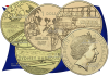 Австралия монета 1 доллар Коралловое море, Война у ворот