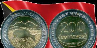 Центральный банк Демократической Республики Восточный Тимор выпустил монету 200 центов