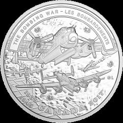 монета 20 долларов Бомбардировочная война, реверс