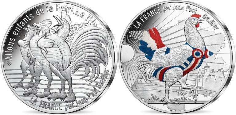монеты номиналом €50 коллекции Жан-Поль Готье Осень-Зима