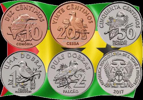 новые монеты сан-томе и принсипи