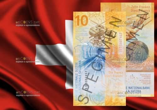 10 франков Швейцарии 2017 года