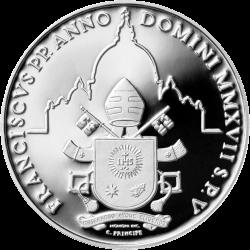 5 евро 50-й Всемирный день мира, реверс