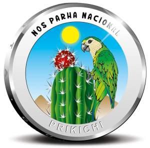 Аруба монета 5 флоринов попугай Аруба, реверс