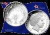 Австралия монета 1 доллар чемпионат Мира по Футболу 2018, серебро