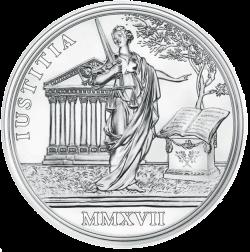 Австрии монета 20 евро императрица Мария Терезия, реверс