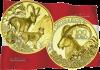 Австрия монета 100 евро Альпийский козерог