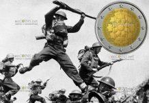 Франция монета 2 евро 100 лет окончания 1-й Мировой войны