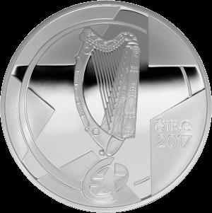 Ирландия монета 10 евро Полпенни мост, реверс