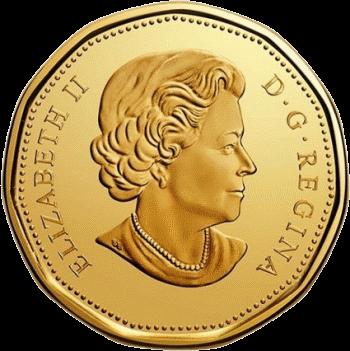Канада монета 1 доллар 100 лет Торонто Мейпл Лифс, аверс