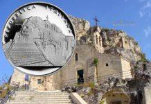 монета 10 евро город Матера