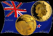 Новая Зеландия серия монет Киви