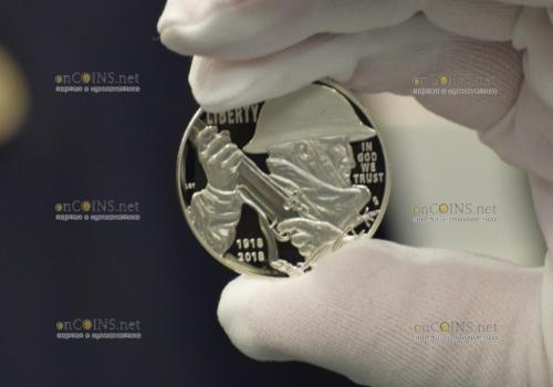 США 1 доллар 100 лет Первой мировой войны