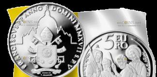 Ватикан 5 евро 50-й Всемирный день мира