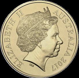 Австралия монета 1 доллар 100-летие битвы при Беэр-Шеве, аверс