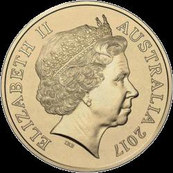 Австралия монета 2 доллара День памяти, аверс