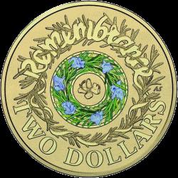 Австралия монета 2 доллара День памяти, реверс