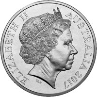Австралия монета 20 центов Международный день людей с ограниченными возможностями, аверс