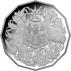 Австралия монета 50 центов 2018