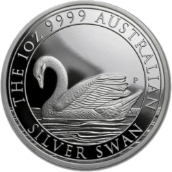 Австралия монета Лебедь 1 доллар, реверс