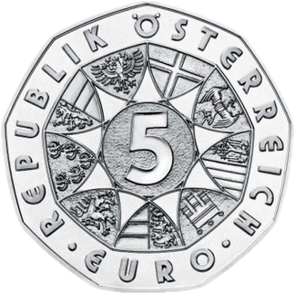 Австрия монета 2 евро 100 лет Австрийской Республики, аверс