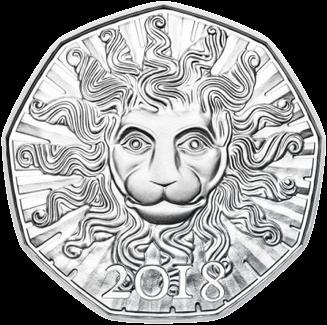 Австрия монета 2 евро 100 лет Австрийской Республики, реверс