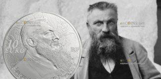 Франции выпустят монету 10 евро Огюст Роден