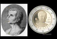 Италия монета 2 евро Тит Ливий