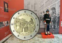 Монако 2 евро 200 лет Компании карабинеров принца
