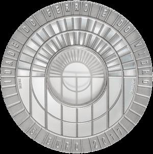 Португалия монета 5 евро Стеклянные и железные века, реверс