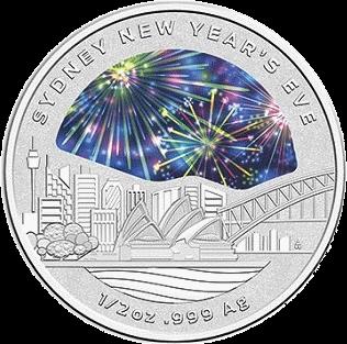 Австралия монета 1 доллар Новый Год 2018, реверс