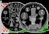 Беларусь монета 1 рубль Свет вачыма дзяцей 2017