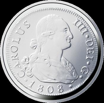 Испания монета 10 евро Дом Бурбона, реверс